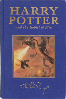 Harry Potter Large selection of Harry Potter 1st Editions at Heritage's NY Rare Book Event
