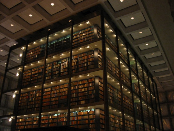 Beinecke Library interior 2 660x495 Yale Acquires Rare Book and Manuscripts Collection