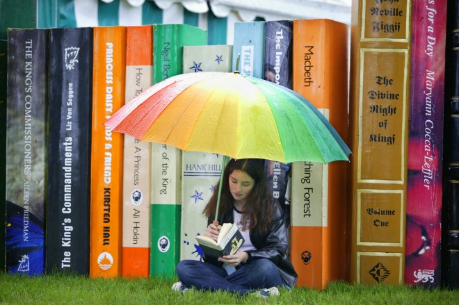 Hay Festival of Literature and the Art The Cost of Rare Books is Starting to Rise
