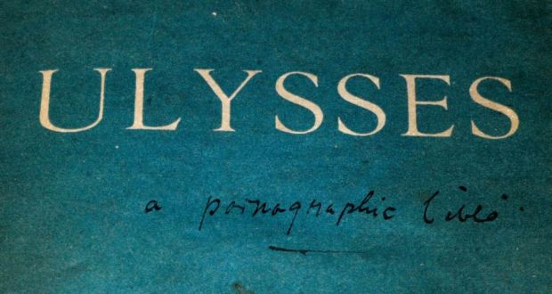 Ulysses defaced Defaced first edition of 'Ulysses' valued at €13,500