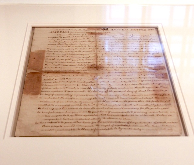 Declaration of Independence Declaration Of Independence Written By Jefferson