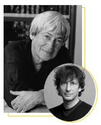 ursala and neil Ursula K. Le Guin to Receive NBF Lifetime Achievement Award