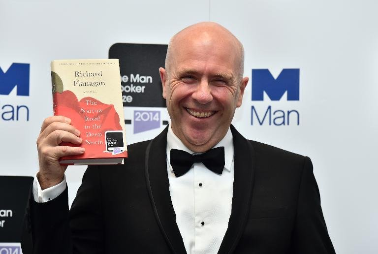 australian author richard flanagan wins man booker prize The winner of the 2014 Man Booker Prize for Fiction is...