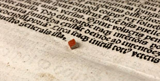 smallest book Tough read: Worlds smallest book